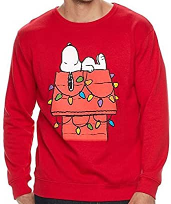 bf1ede4c041 Peanuts Womens Plus Size Snoopy Holiday Hoodie Sweatshirt Holiday Gifts