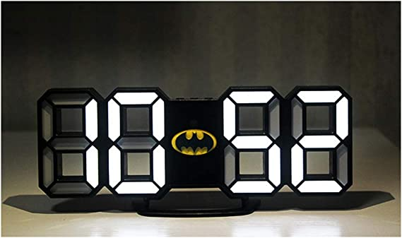 Batman-Réveil de forme ovale