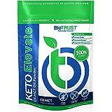 BioTrust Keto Elevate, Pure C8 MCT Oil Powder, Ketogenic Diet Supplement, Keto Coffee Creamer, Clean Energy, Mental Focus and
