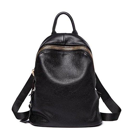 Filles Les dos Sacs Femme les dos à école à Noir en filles Mode dos pour cuir A à femmes à de Sac dos Sacs dames noir VHVCX dqAHd