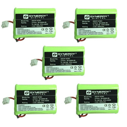 Motorola MD-7161 Cordless Phone Battery Combo-Pack includ...