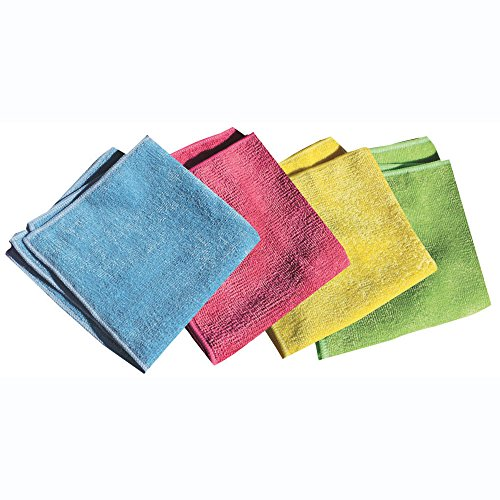 Stainless Steel Water Bath (e-cloth General Purpose Cloths, 4 Piece Pack)