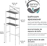 Zenna Home Metal Cross-Style Over The Toilet