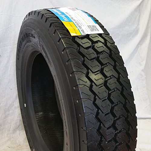(4-TIRES) 245/70R19.5 H/16 NEW ROAD WARRIOR LONG MARCH LM-508 DRIVE ALL POSITION TIRES 16 PLY 24570195 by ROAD WARRIOR (Image #1)