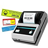 Thermal Printer,2inch Barcode Label Printer Portable Thermal Bluetooth Printer with Rechargeable Battery for Restaurant,Retail,Small Business and More Labels (58MM Label Printer) (58mm Label Printer)