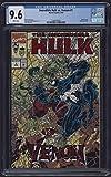 #3: Incredible Hulk vs Venom #1 CGC 9.6 Near Mint + White Pages Marvel Comics 1994