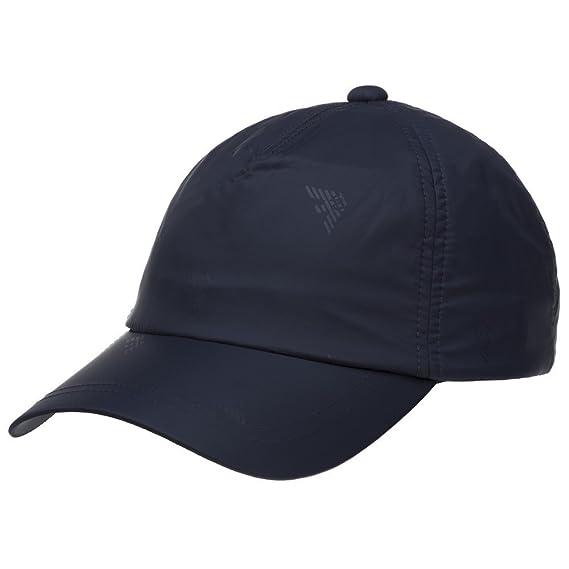 Emporio Armani Nylon Baseball Cap Navy One  Amazon.co.uk  Clothing f54f2401a819