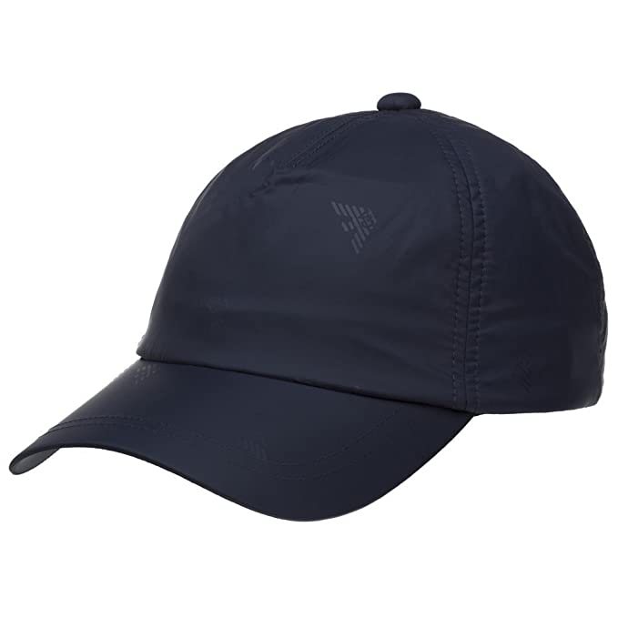 1bf4b5a3 Emporio Armani Nylon Baseball Cap Navy One: Amazon.co.uk: Clothing