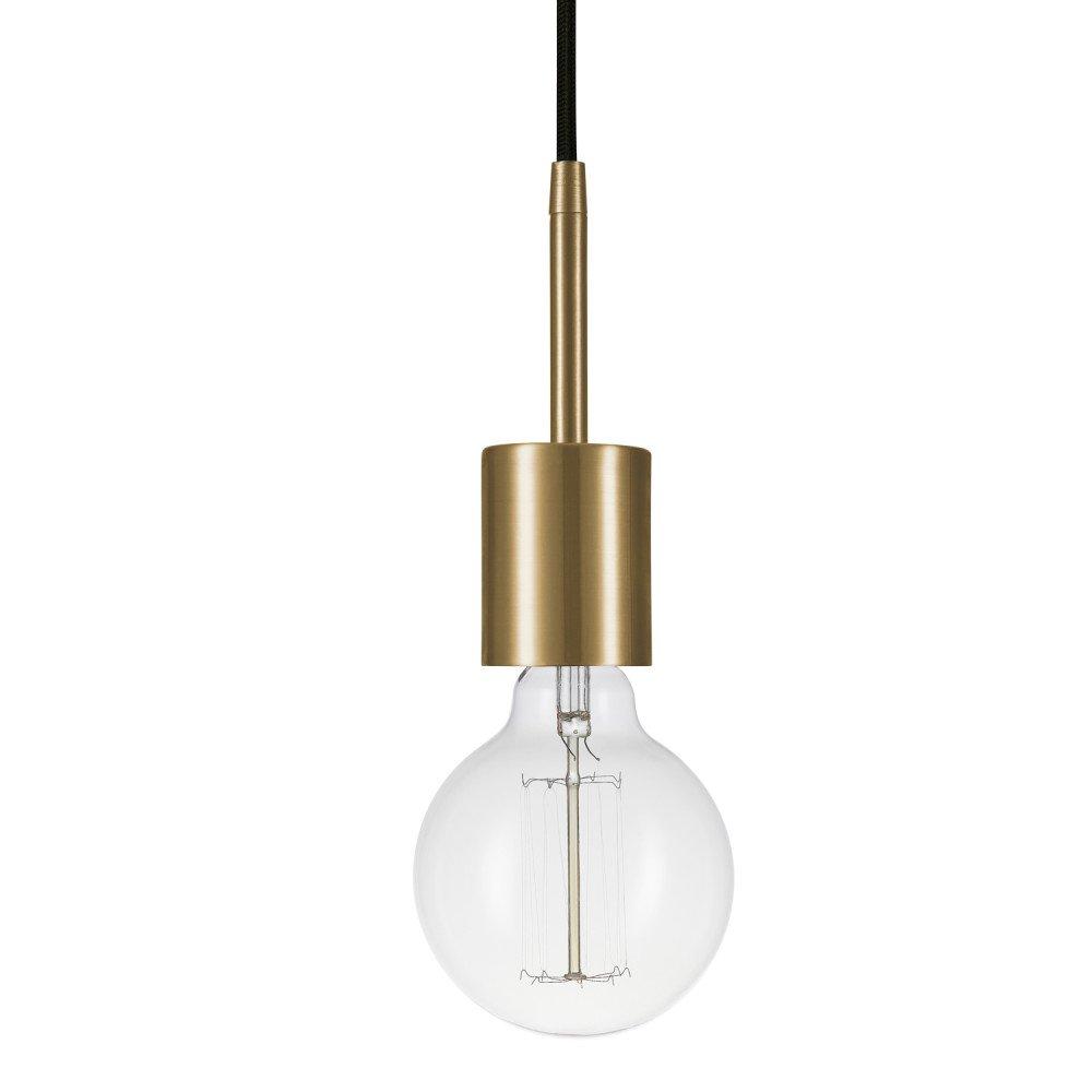 Globe Electric 65980 Leila Pendant, 1 Light, Brass by Globe Electric (Image #2)