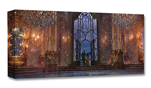 Disney Concepts Castle Ballroom (Interior) Treasures on Canvas Beauty and The Beast Live Action Feature Film 9 Inches x 22 Inches Reproduction Gallery Wrapped Giclée on Canvas Wall Art - Emmas Treasures Poster