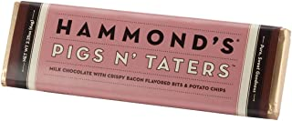 product image for Bacon and Potato Chips Candy Bar - Hammonds Pigs N Taters - 2.25 Oz - Funny Gift - Delicious - Good - Yummy - Chocolate Bar - Candy Bar - Milk Chocolate - Christmas Present Idea