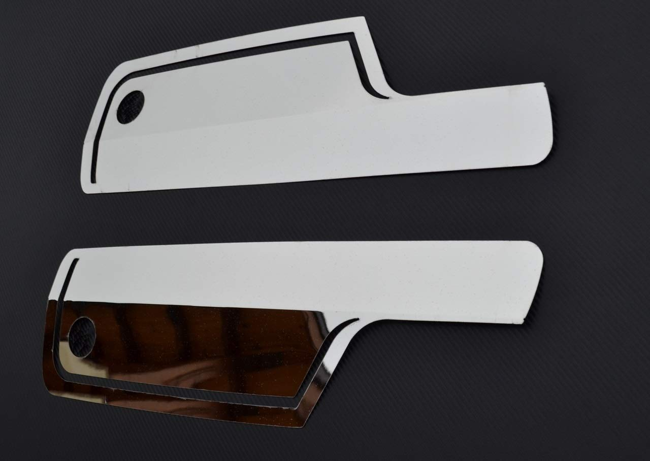 right wing mirrors stainless steel decorations for Actros MP4 truck accessory ESK Left