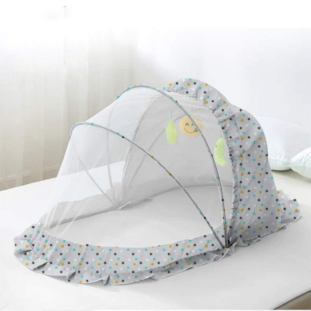 TYZNB Baby Mosquito net Summer Mosquito Folding Portable Free Installation Child Mosquito net Bed Full Cover 2019 C, 985660cm