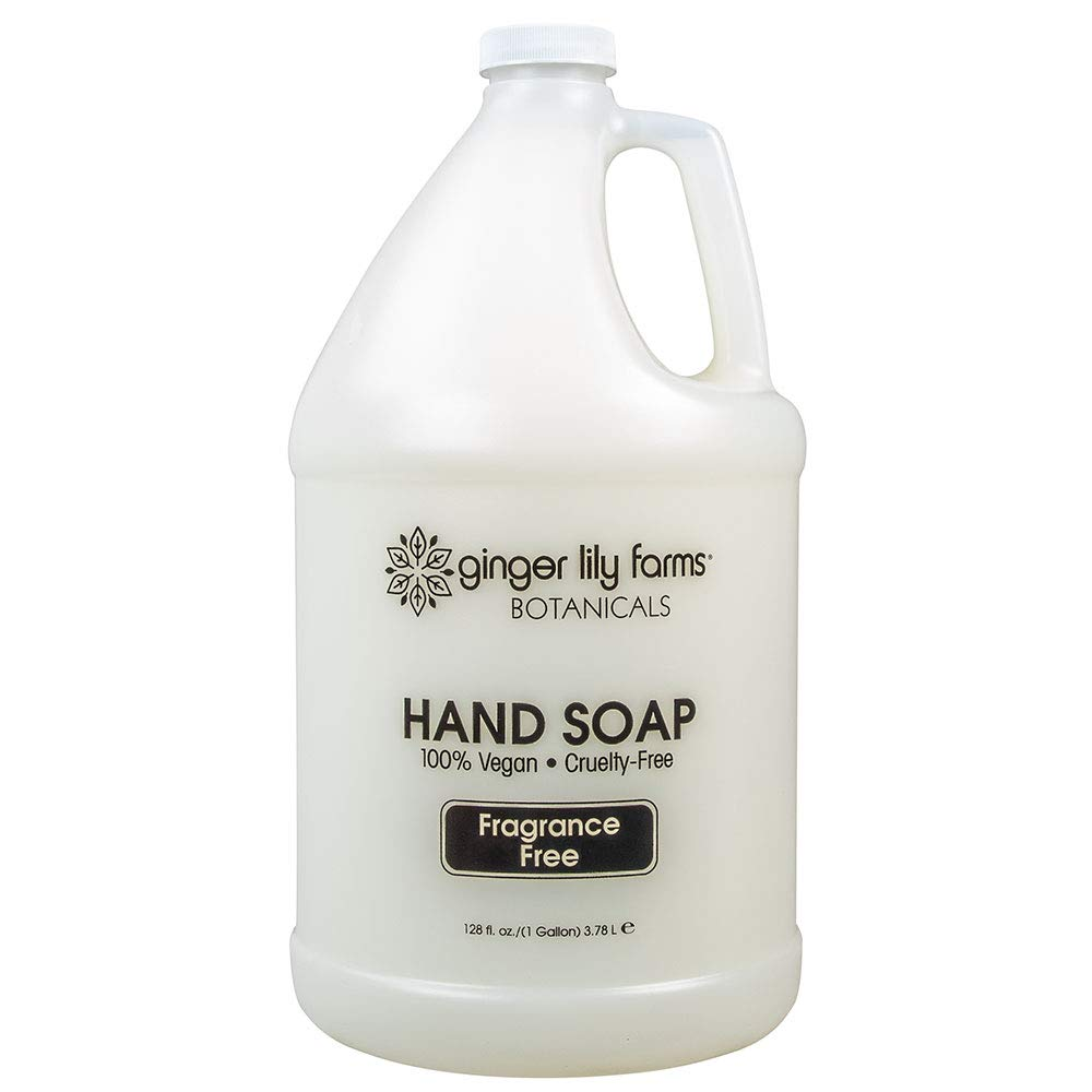 Ginger Lily Farms Botanicals All-purpose fragrance-free hand soap gallon, 128 Ounce