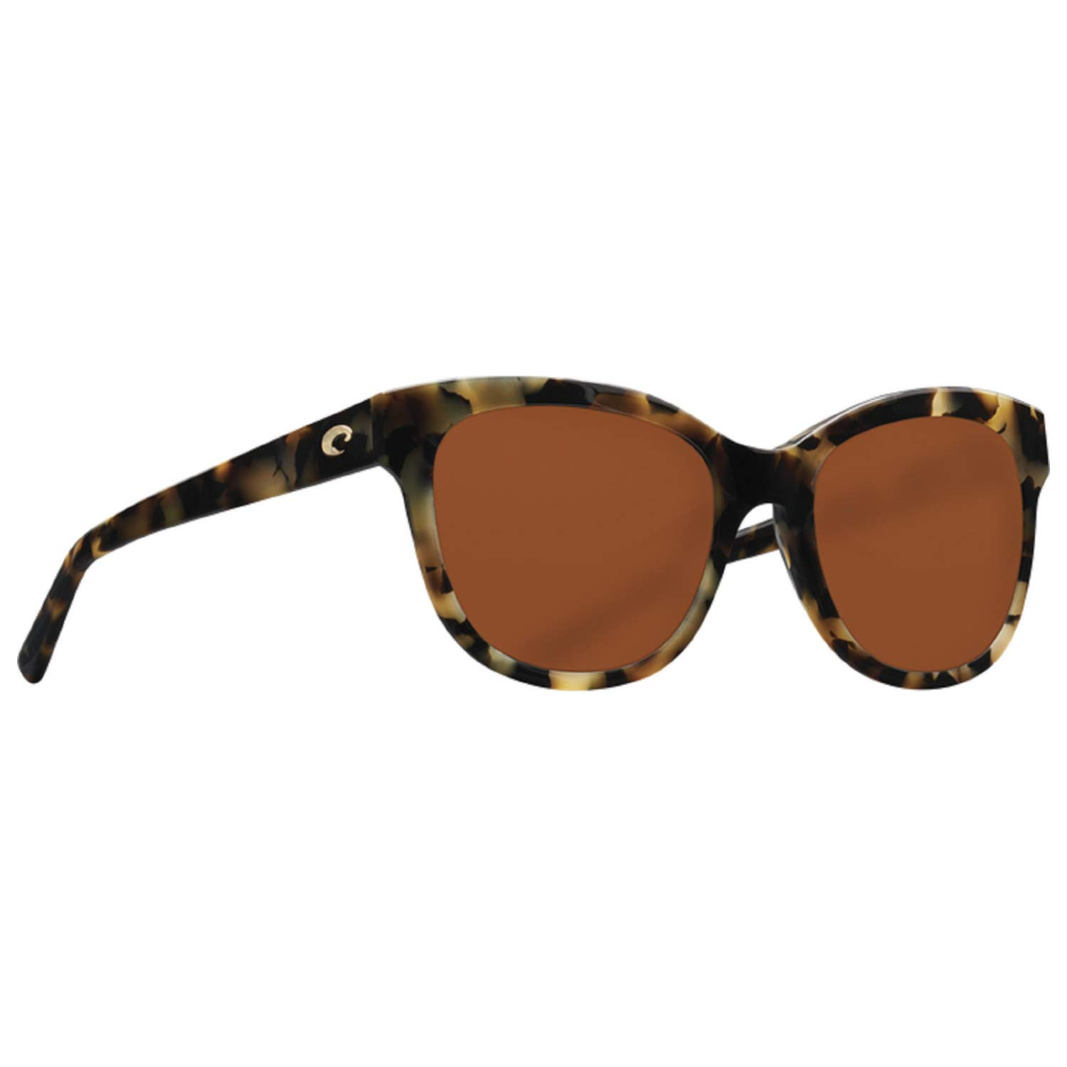Costa Del Mar Bimini Sunglasses Shiny Vintage Tortoise/Copper 580Glass by Costa Del Mar