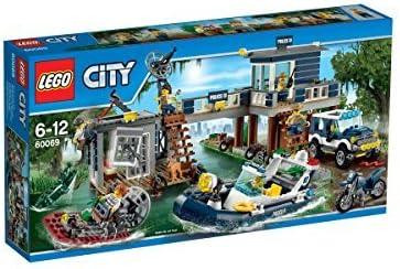 LEGO (LEGO) City swamp of Police Station 60069