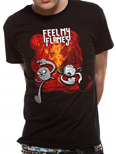 My shirt Time Adventure Multicolore Flames feel Cid T Homme T qt0Aaxf