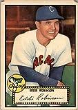 1952 Topps #32 Eddie Robinson Philadelphia Phillies printed in pen on back POOR