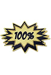 100% Blast Corporate Service Lapel Pin
