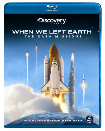When We Left Earth - The NASA Missions [Blu-ray] by Gaiam