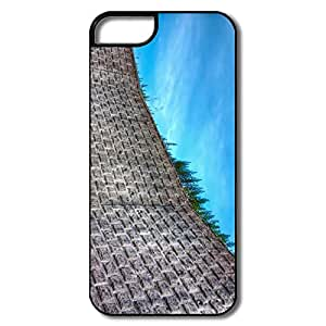 IPhone 5/5S Cases, Wall White/black Covers For IPhone 5 by runtopwell
