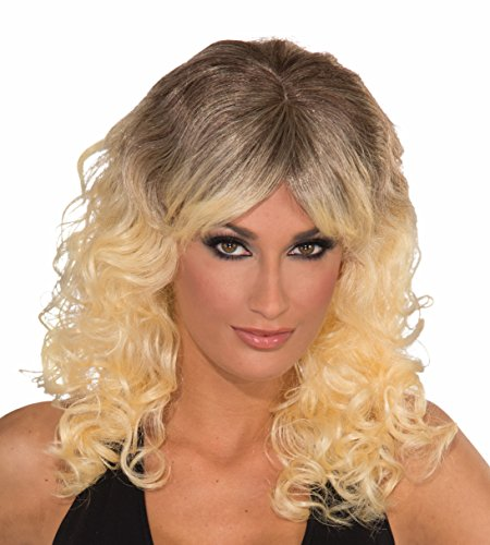 [Forum Novelties Women's Sun Kissed Wig, Blonde, One Size] (70s And 80s Party Costumes)