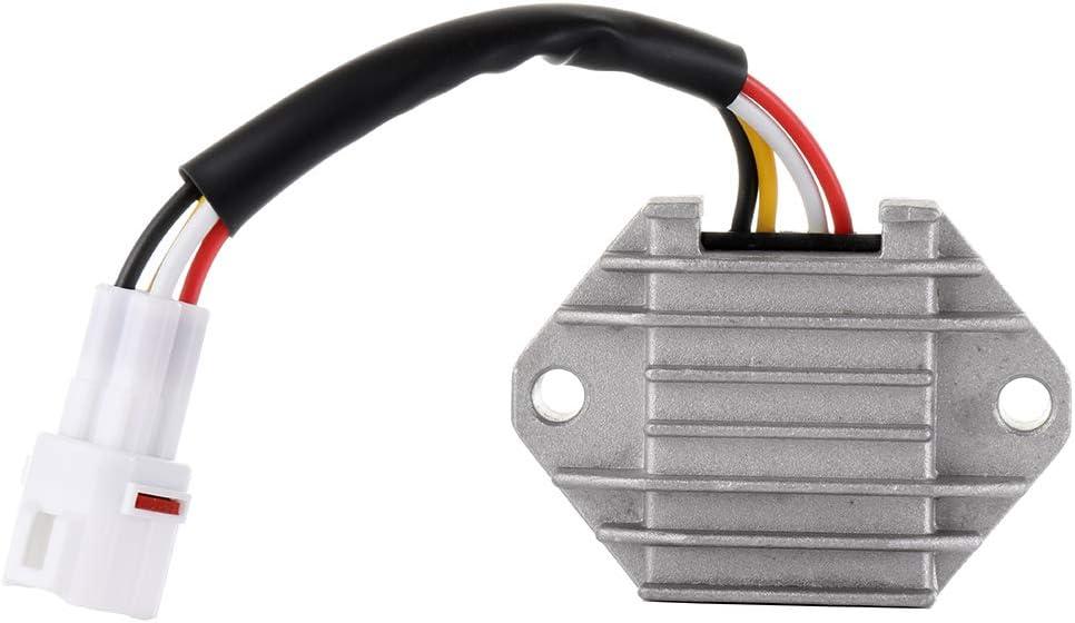 ROADFAR Voltage Regulator Rectifier 5TG-81960-00-00 Fit for 2004-2009 Yamaha YFZ450 2004 Yamaha YFZ450LE 2005-2007 Yamaha YFZ450SE 2007 Yamaha YFZ450SE2 2008 Yamaha YFZ450SP 2008 Yamaha YFZ450SP2