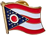 US Flag Store Ohio Flag Lapel Pin