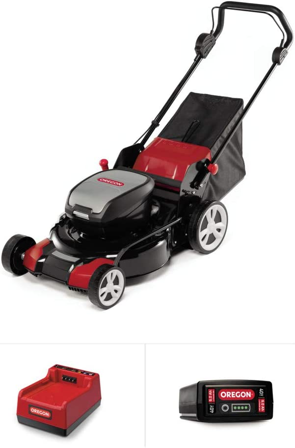 Oregon 591078 Lawnmower Kit, Red/Black