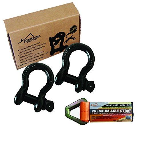 Anchor Wire Brass Hooks (3/4
