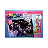 : Lite Brite Picture Refill Set: My Little Pony With Bonus Colored Pegs!