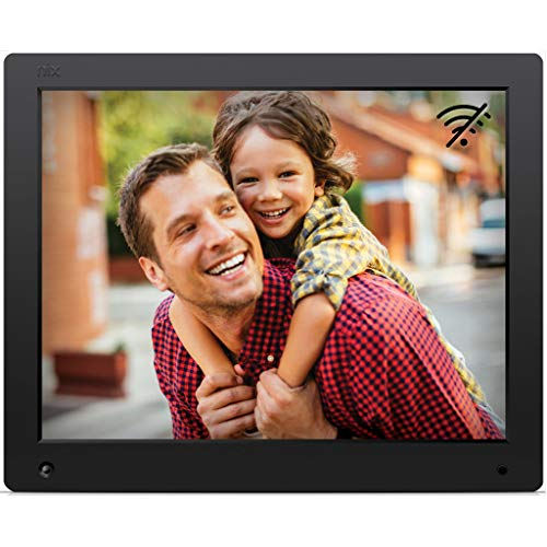 NIX Advance 15-Inch Digital Photo Frame - HD Digital Photo & Video Frame with Motion Sensor, Auto Rotate, Slideshow, Calendar View & USB/SD Card ()