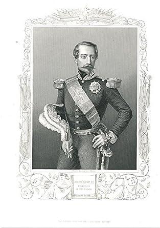 Amazon com: Emperor Napoleon III of France ca  1856 fine