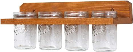 Farmhouse Bathroom Add on Rustic Toothbrush Holder Mason Jar Toothbrush Holder Bathroom Storage Toothbrush Holders