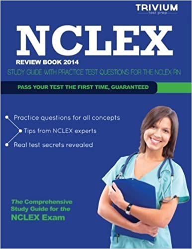Book NCLEX Review Book 2014: Study Guide with Practice Test Questions for the NCLEX RN by Trivium Test Prep (2013-12-12)