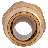 SharkBite U086LFA Water Softener Fitting 3/4 inch x 1 inch FIP, Push-To-Connect, COPPER, PEX, CPVC