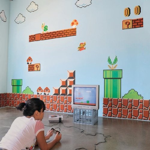 Nintendo Wall Graphics - Super Mario Bros - Nintendo Wall Decals - Amazon
