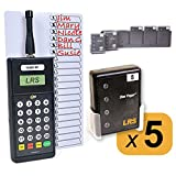 Restaurant Server System Kit with 5 Pagers