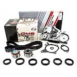 New ITM179WP (145 teeth) Timing Belt Kit and Water Pump Set (GMB) for Ford Escort Mazda Miata Protégé Mercury Capri 1.6L & 1.8L B6, BP 1990-96