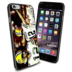 NFL Green Bay Packers Aaron Rodgers, Cool iPhone 6 Smartphone Case Cover Collector iphone TPU Rubber Case Black