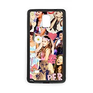 Fayruz- Personalized Ariana Grande Protective Hard Rubber Phone Case for Samsung Galaxy Note 4 Note4 Cover I-N4O141