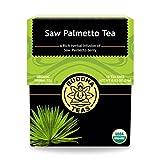 Organic Saw Palmetto Tea - Kosher, Caffeine Free, GMO-Free - 18 Bleach Free Tea Bags