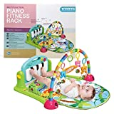 WYSWYG Baby Gym Jungle Musical Play Mats for Floor, Kick and Play Piano