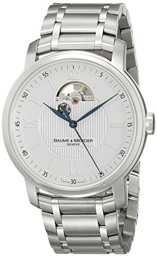 Baume Mercier Men s 8833 Classima Executives Automatic Silver Dial Watch
