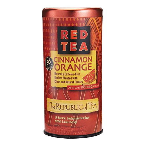 REPUBLIC OF TEA Cinnamon Blood Orange Red Tea, 36 - Orange Cinnamon Tea