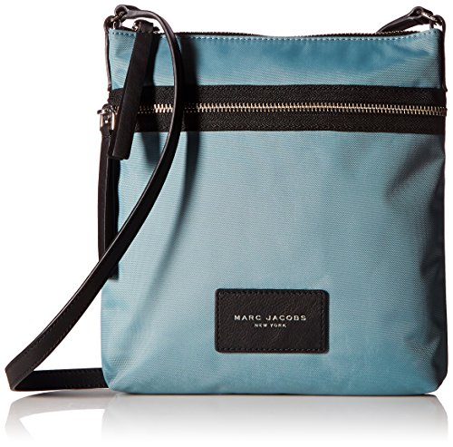Marc Jacobs Nylon Biker North/South Crossbody, Dolphin Blue