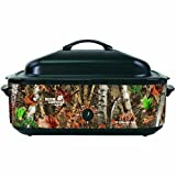 Open Country 4818-17 Roaster Oven, 18 quart, Woodland Birch Camo