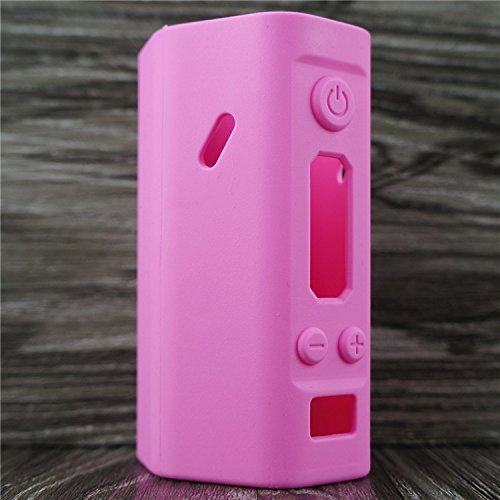 Silicone Case for Wismec Reuleaux RX200 Sleeve Cover Skin Wrap (Pink)