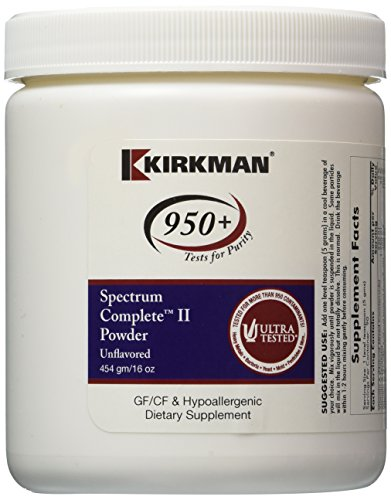 Spectrum Complete II Powder 454 gm Unflavored by Kirkman