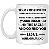 Best Boyfriend Mugs - To my special boyfriend Novelty Cup Mug quote Review